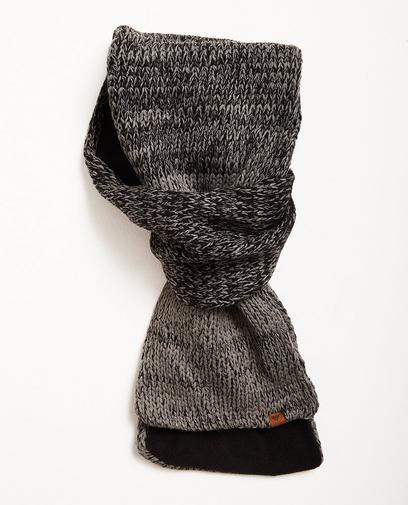 Sjaal met fleece